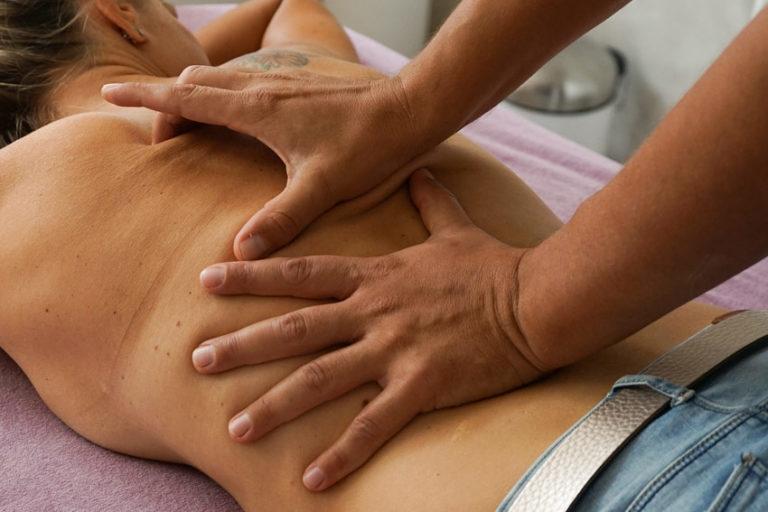 Massage Therapeut, Patientin