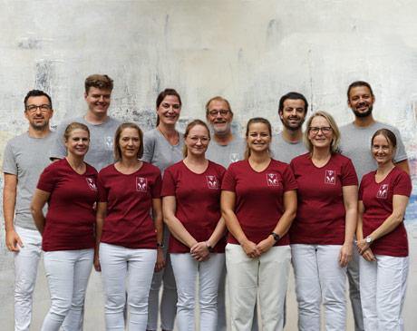 Das Team Lurbiecki